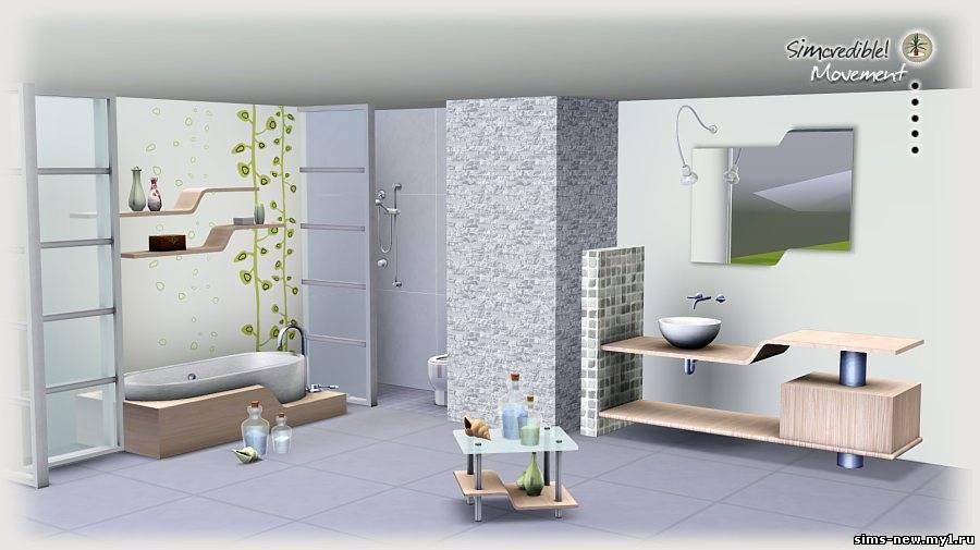 Интерьер комнаты в симсе 3