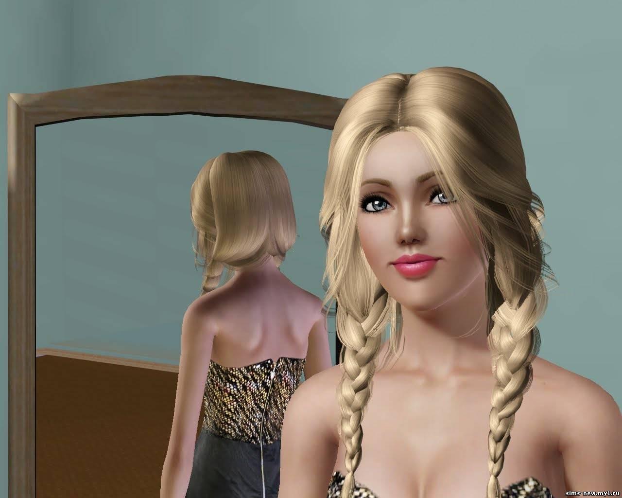 Причёски в симс 3 фото